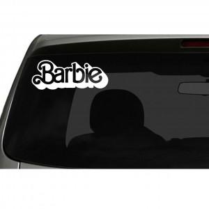 Barbie Logo Car/Van/Window Decal Sticker