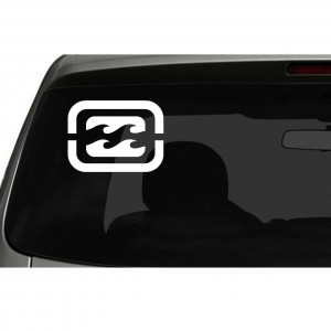 Billabong Surf Logo Car/Van/Window Decal Sticker