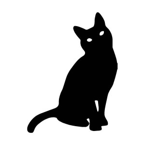 Cat Silhouette Car/Van/Window Decal Sticker