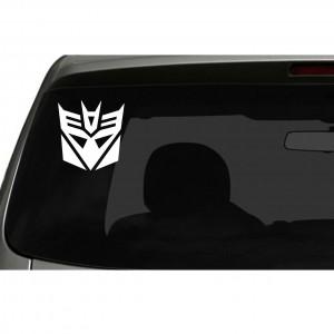 Transformers Decepticons Logo Car/Van/Window Decal Sticker