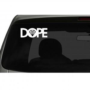 Dope Surf Logo Car/Van/Window Decal Sticker