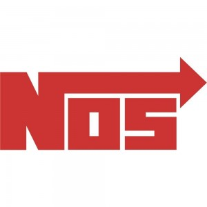 2x NOS Logo Car/Van/Window Decal Sticker