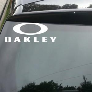 Oakley Logo Car/Van/Window Decal Sticker