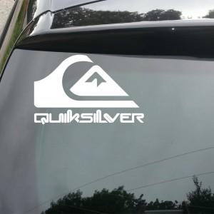 Quiksilver Logo Car/Van/Window Decal Sticker