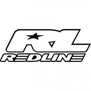 2x Redline Logo Car/Van/Window Decal Sticker