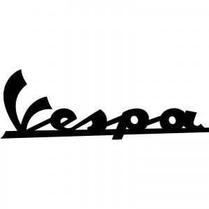 2x Vespa Mod Car/Van/Window Decal Sticker